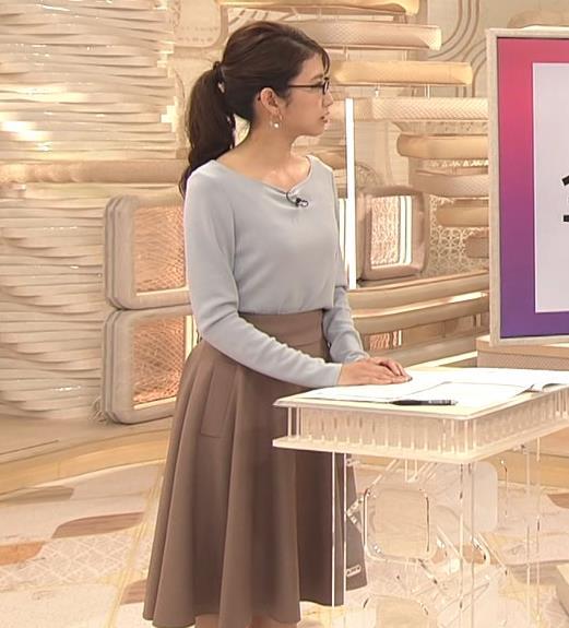三田友梨佳アナ メガネエロキャプ・エロ画像9