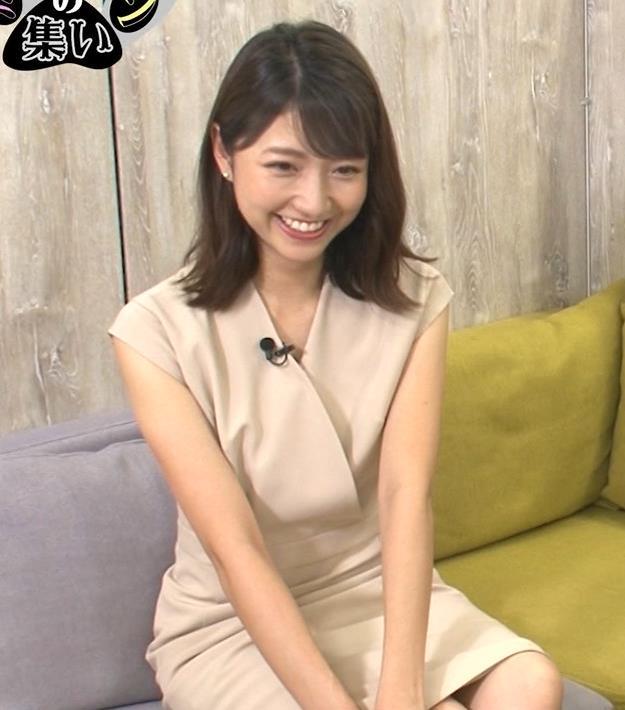 三田友梨佳アナ セクシーなミニスカートキャプ・エロ画像7