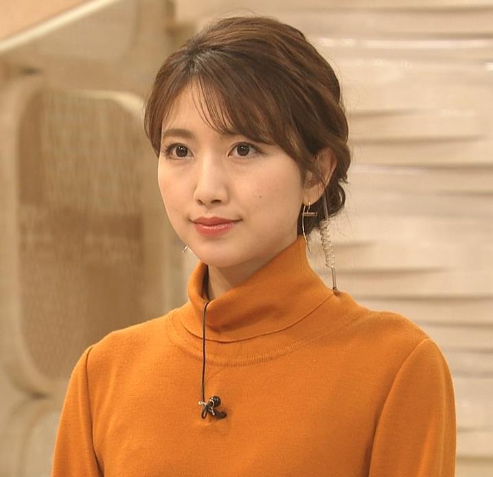 三田友梨佳アナ かわいい衣装キャプ・エロ画像
