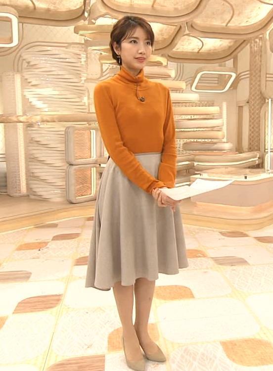三田友梨佳アナ かわいい衣装キャプ・エロ画像4