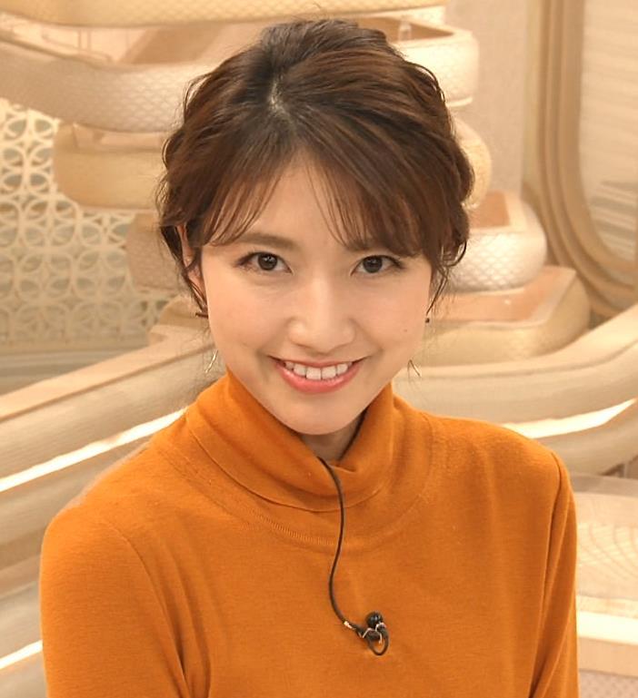三田友梨佳アナ かわいい衣装キャプ・エロ画像9