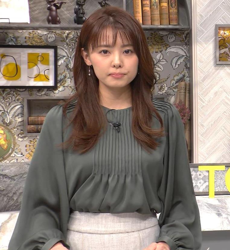 宮澤智アナ 胸のふくらみキャプ・エロ画像3