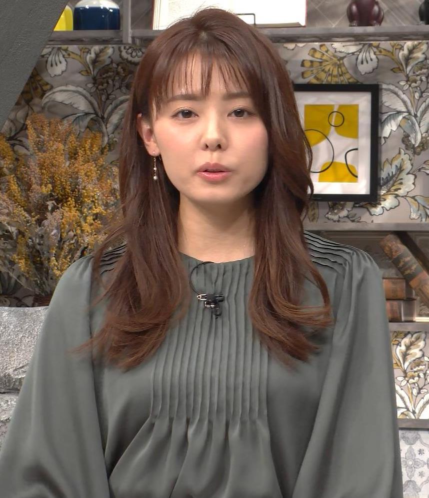 宮澤智アナ 胸のふくらみキャプ・エロ画像4