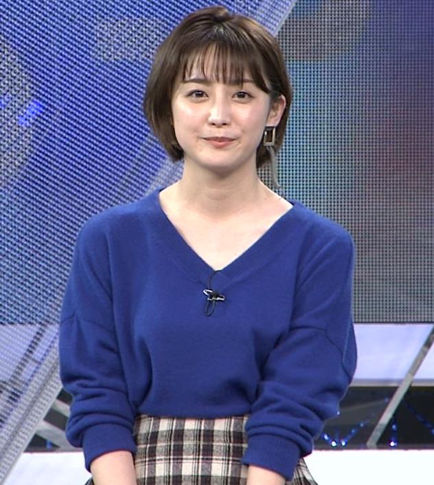 宮司愛海アナ お辞儀で服の中が見えてそうキャプ・エロ画像2