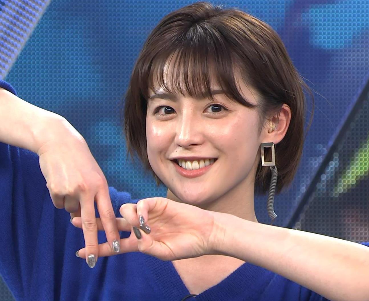 宮司愛海アナ お辞儀で服の中が見えてそうキャプ・エロ画像4