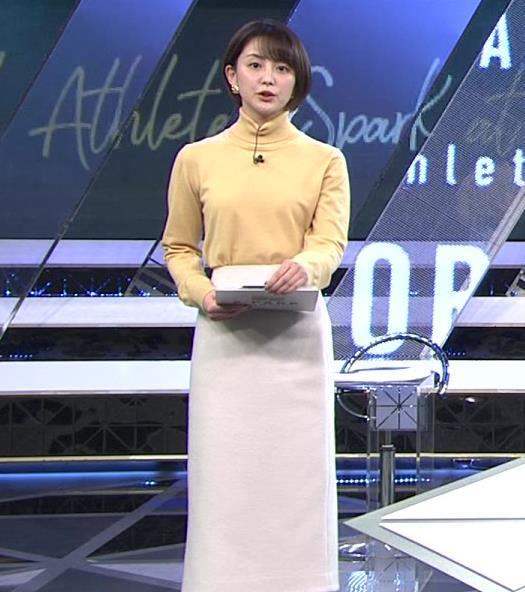 宮司愛海アナ ロングスカートキャプ・エロ画像