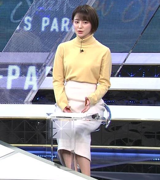 宮司愛海アナ ロングスカートキャプ・エロ画像3