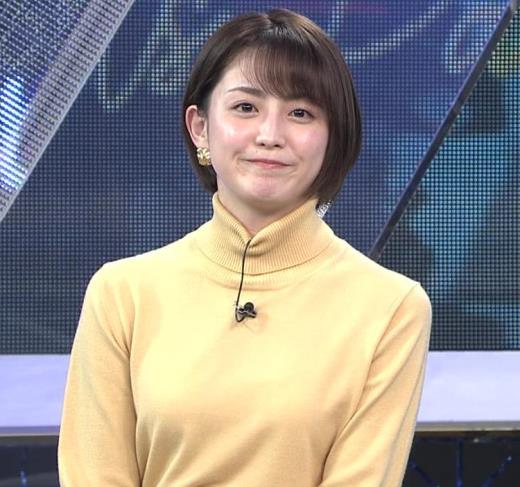 宮司愛海アナ ロングスカートキャプ画像(エロ・アイコラ画像)