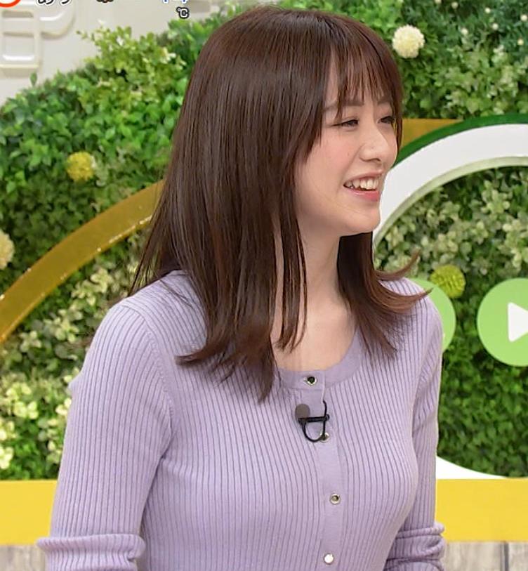 森香澄アナ クッキリ横乳キャプ・エロ画像