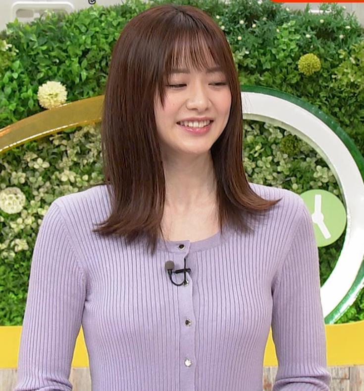 森香澄アナ クッキリ横乳キャプ・エロ画像9