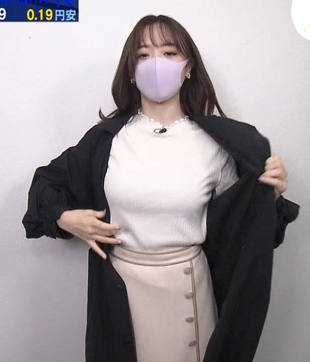 森香澄アナ エロ過ぎ巨乳キャプ・エロ画像