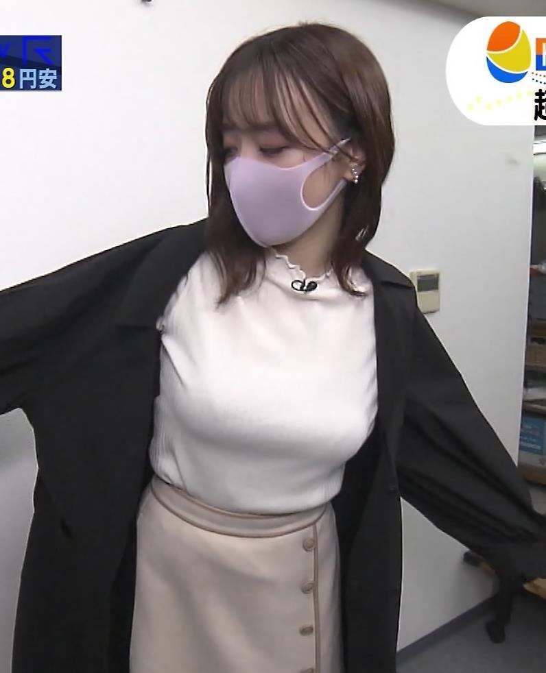 森香澄アナ エロ過ぎ巨乳キャプ・エロ画像6