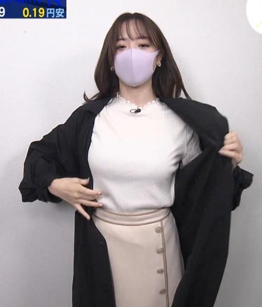 森香澄アナ エロ過ぎ巨乳キャプ画像(エロ・アイコラ画像)