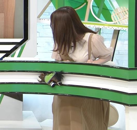 森香澄アナ 話題になった方乳衣装キャプ・エロ画像2