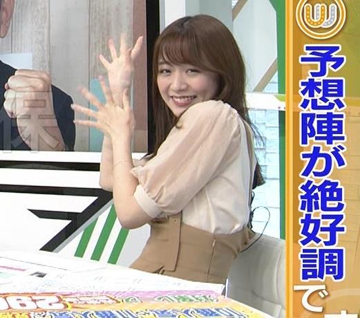 森香澄アナ 話題になった方乳衣装キャプ・エロ画像6