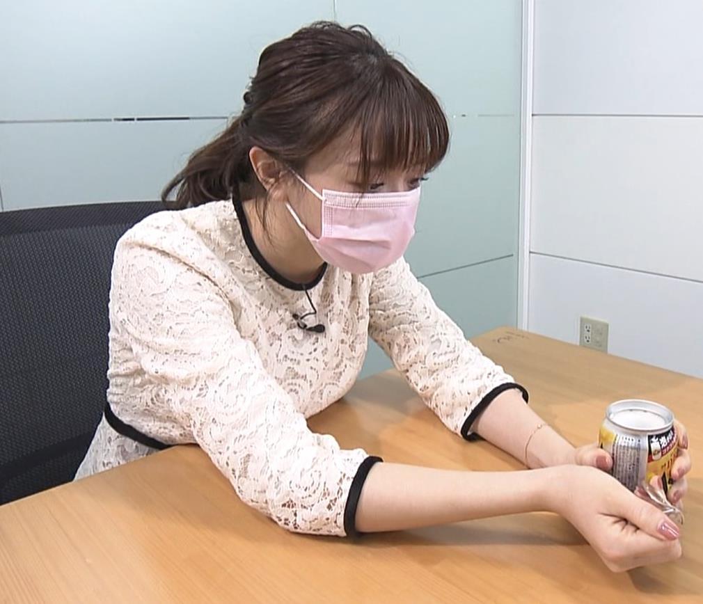 森香澄アナ 巨乳横乳キャプ・エロ画像4