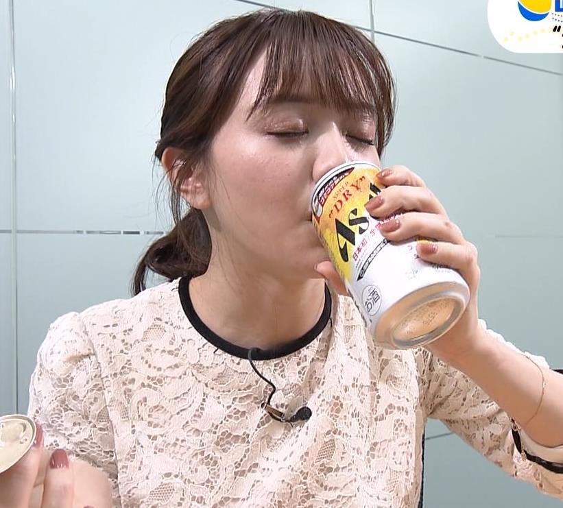 森香澄アナ 巨乳横乳キャプ・エロ画像5