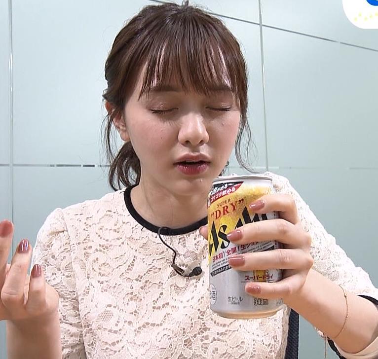 森香澄アナ 巨乳横乳キャプ・エロ画像6