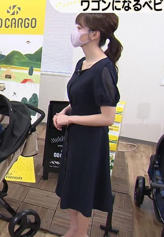 森香澄アナ 前かがみ胸チラキャプ・エロ画像8