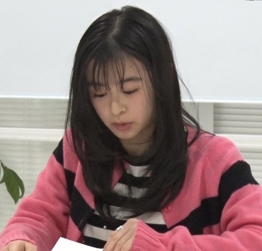 森七菜 ニット微乳キャプ・エロ画像