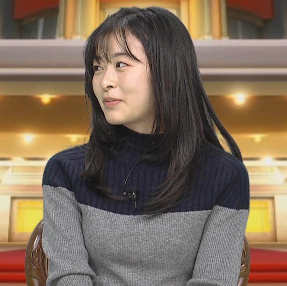森七菜 ニット微乳キャプ・エロ画像3