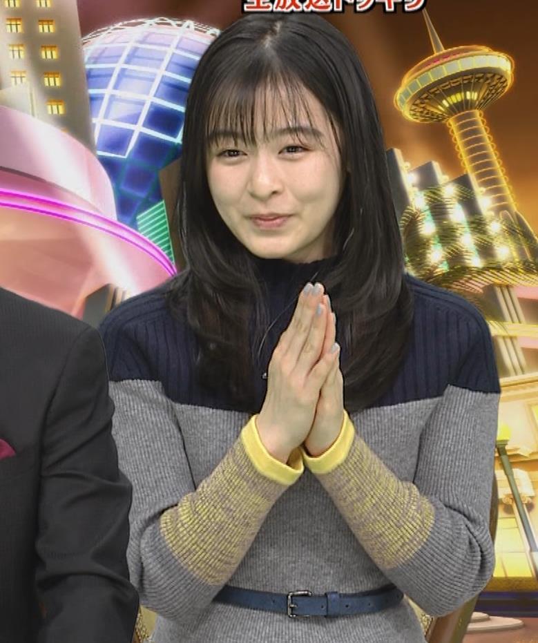 森七菜 ニット微乳キャプ・エロ画像7