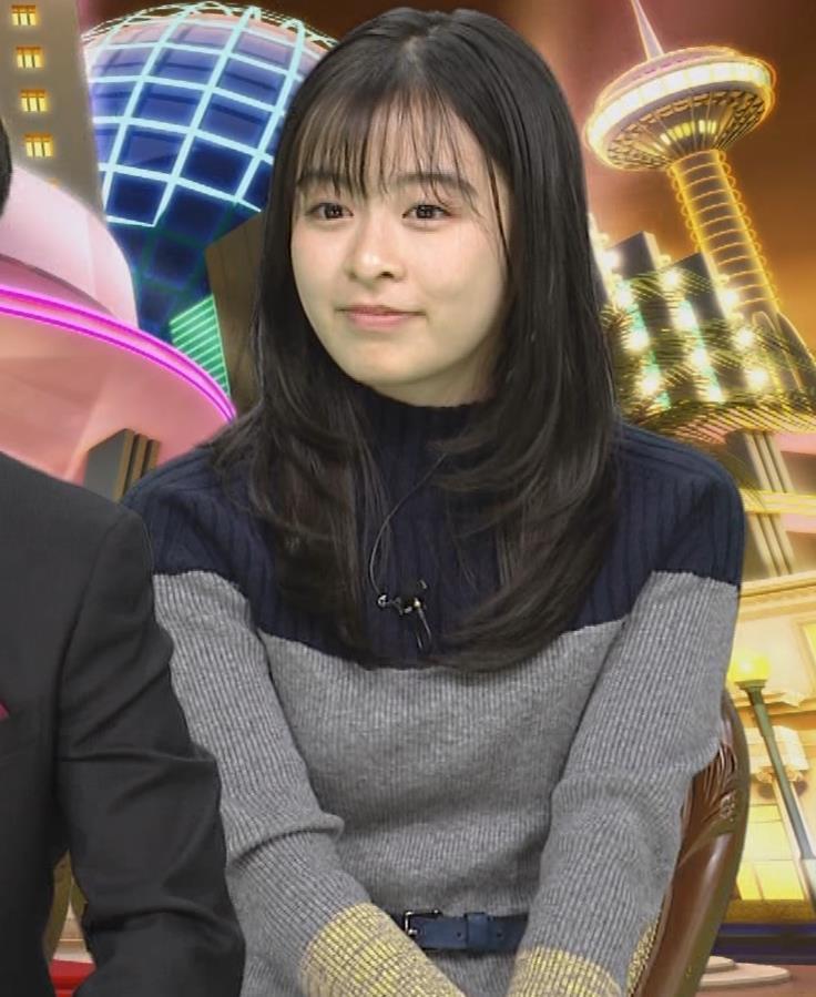 森七菜 ニット微乳キャプ・エロ画像8