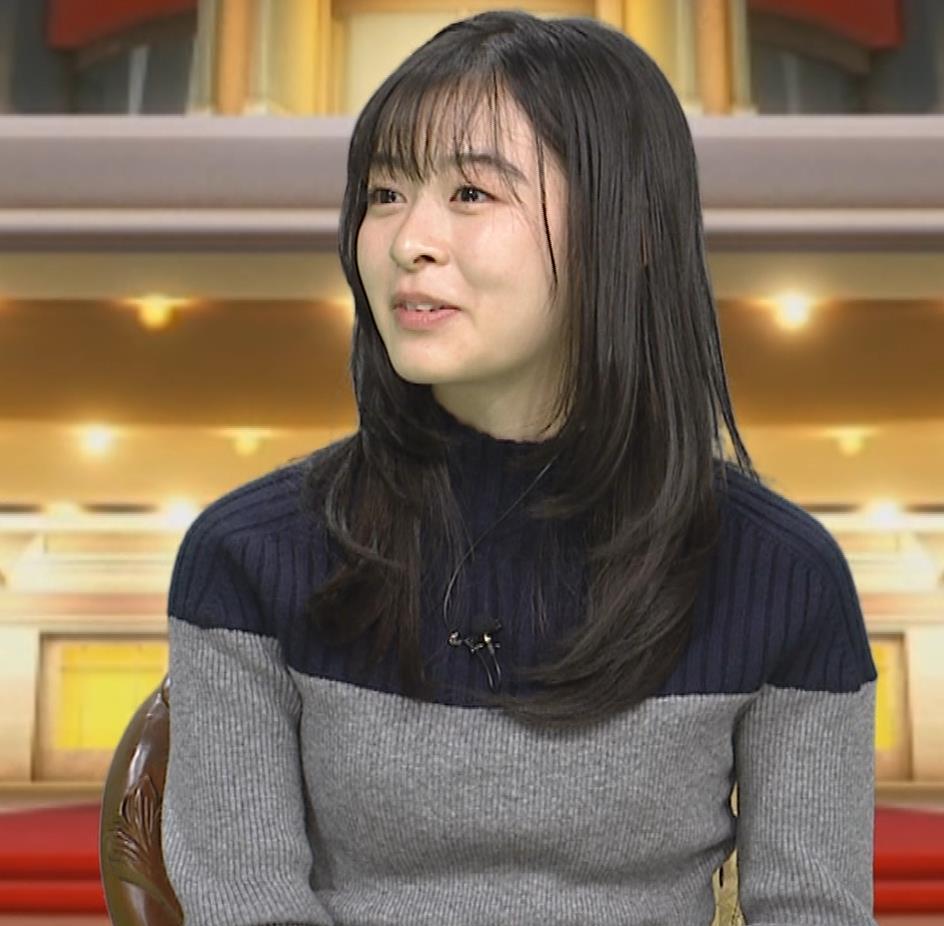 森七菜 ニット微乳キャプ・エロ画像9