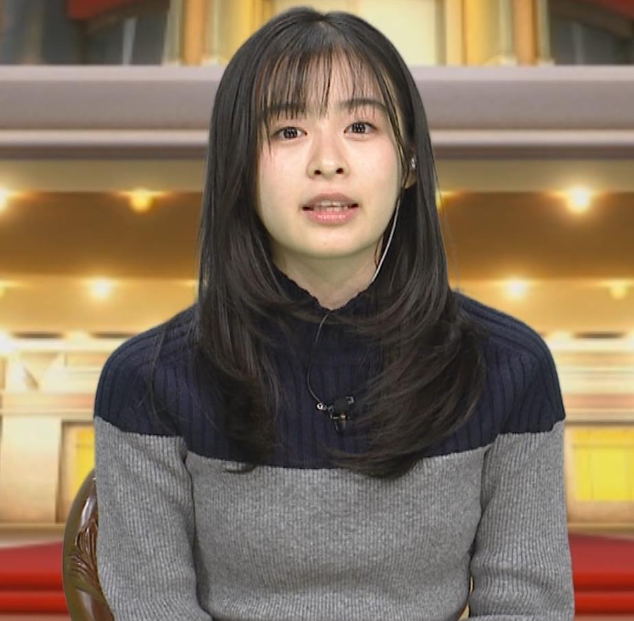 森七菜 ニット微乳キャプ・エロ画像10