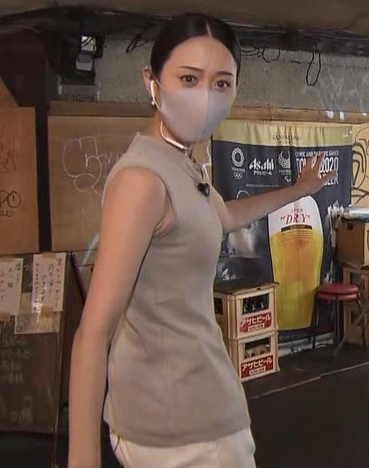 森葉子アナ セクシーなノースリーブ&お尻キャプ・エロ画像9