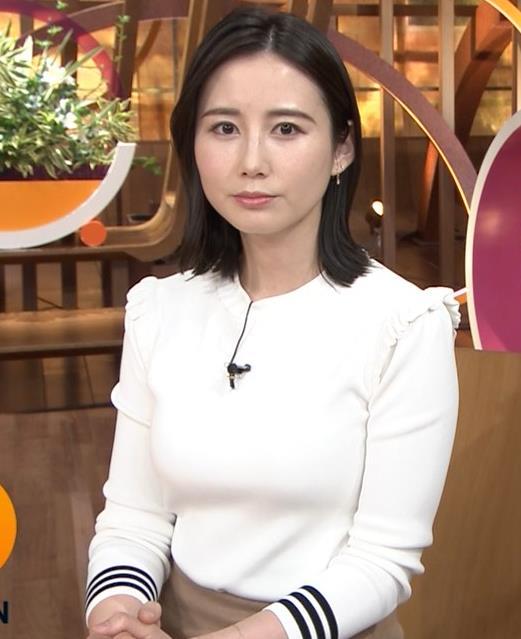 森川夕貴アナ おっぱい&机の下の脚キャプ・エロ画像