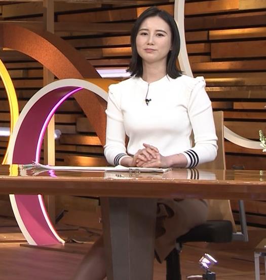 森川夕貴アナ おっぱい&机の下の脚キャプ・エロ画像3