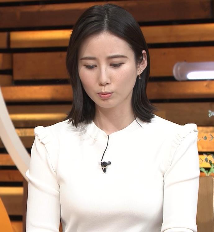 森川夕貴アナ おっぱい&机の下の脚キャプ・エロ画像5
