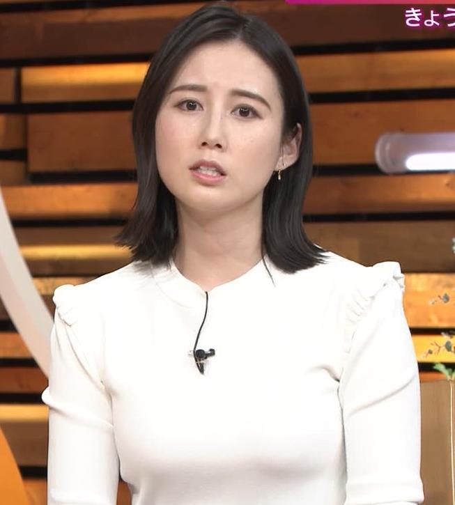森川夕貴アナ おっぱい&机の下の脚キャプ・エロ画像6