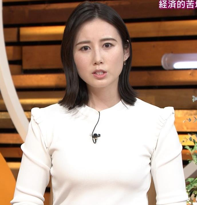 森川夕貴アナ おっぱい&机の下の脚キャプ・エロ画像7