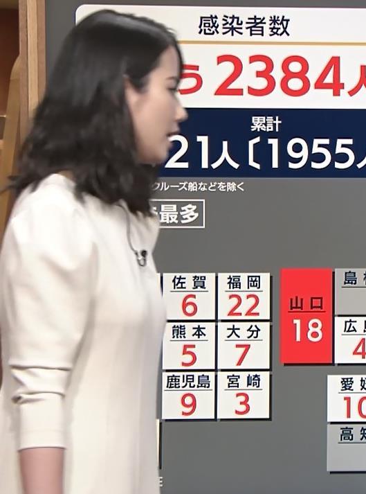 アナ 清楚系エロおっぱいキャプ・エロ画像13