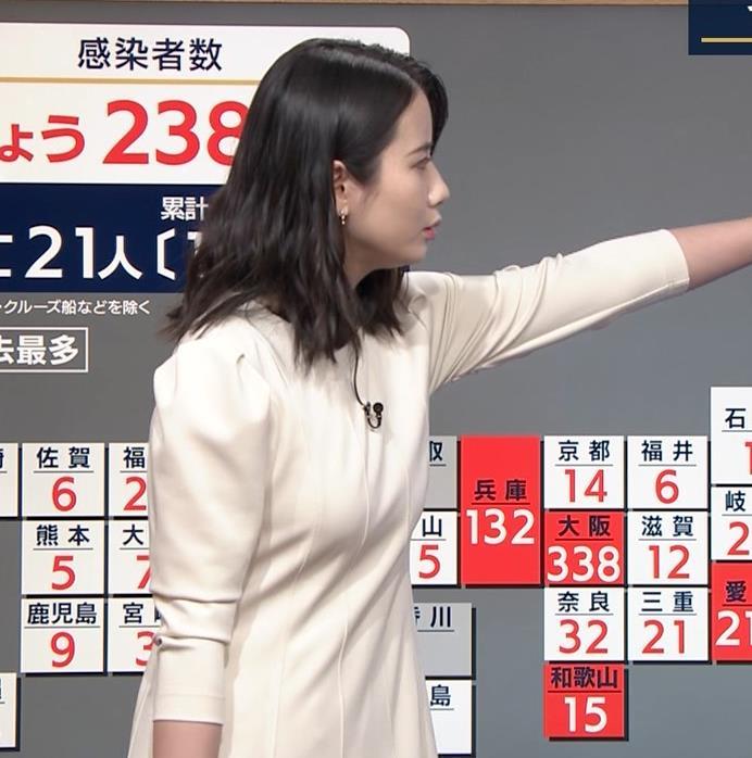 アナ 清楚系エロおっぱいキャプ・エロ画像4