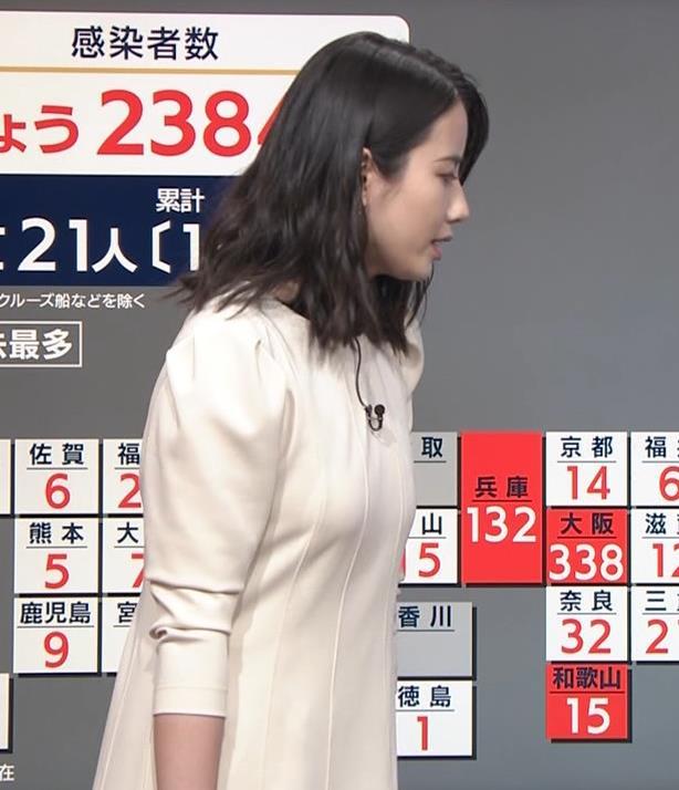 アナ 清楚系エロおっぱいキャプ・エロ画像5