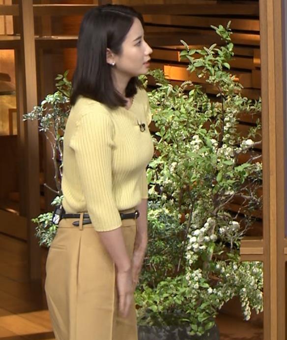 森川夕貴アナ ニットおっぱいキャプ・エロ画像3