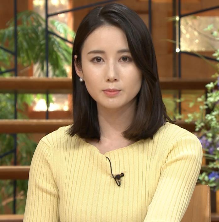 森川夕貴アナ ニットおっぱいキャプ・エロ画像8