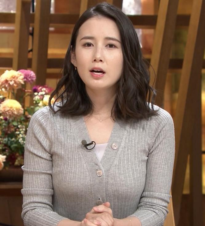 森川夕貴アナ 横乳エロ過ぎキャプ・エロ画像