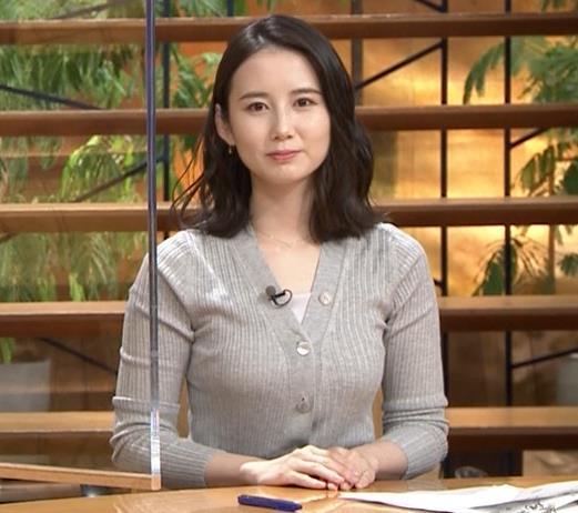 森川夕貴アナ 横乳エロ過ぎキャプ・エロ画像13