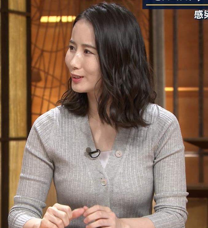 森川夕貴アナ 横乳エロ過ぎキャプ・エロ画像9