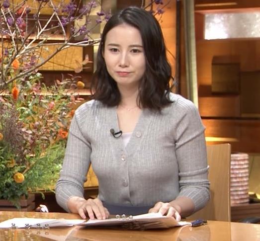森川夕貴アナ 横乳エロ過ぎキャプ・エロ画像10