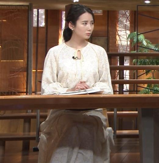 森川夕貴アナ 巨乳がわかる横乳キャプ・エロ画像5