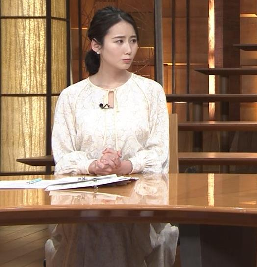 森川夕貴アナ 巨乳がわかる横乳キャプ・エロ画像6