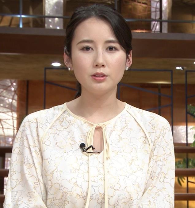 森川夕貴アナ 巨乳がわかる横乳キャプ・エロ画像7
