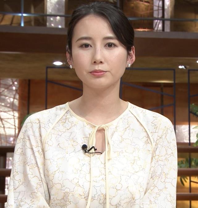 森川夕貴アナ 巨乳がわかる横乳キャプ・エロ画像8