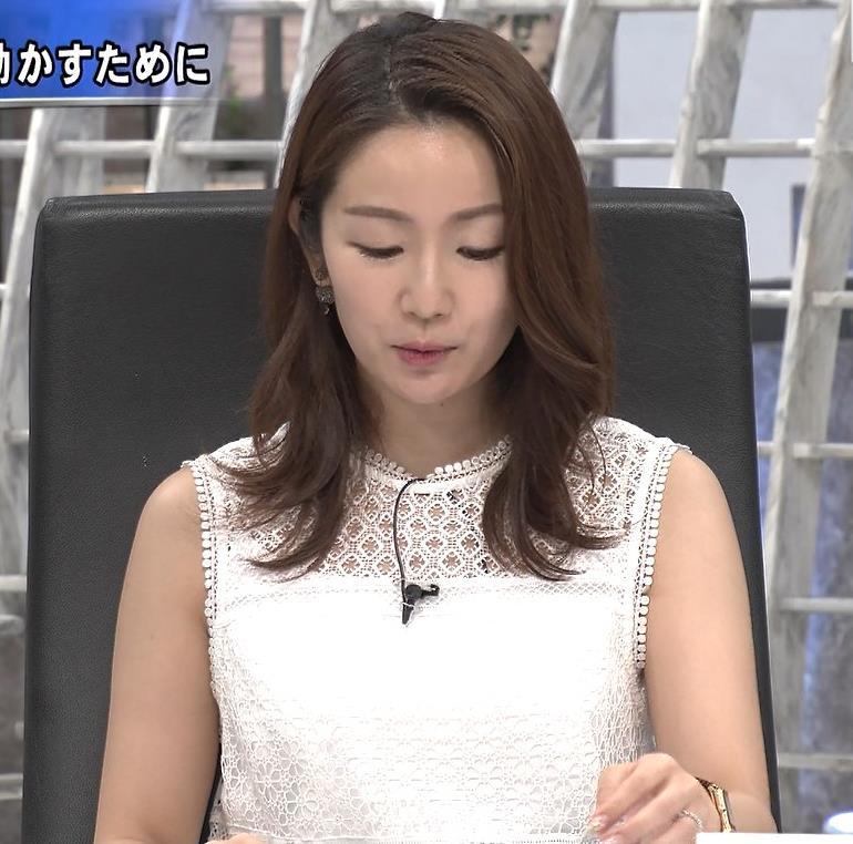 長野美郷 ノースリーブキャプ・エロ画像