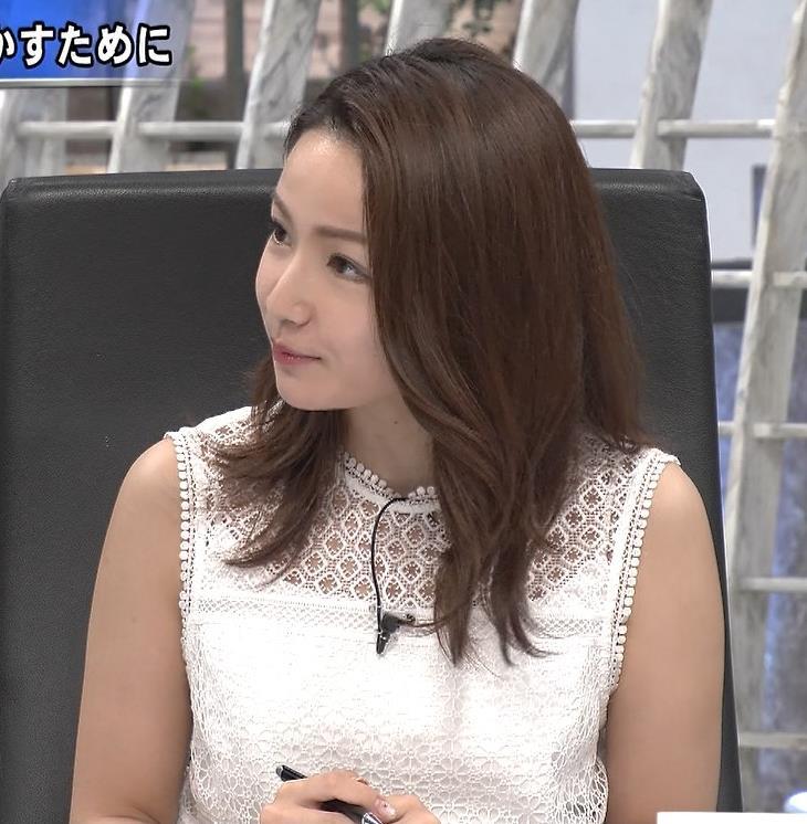 長野美郷 ノースリーブキャプ・エロ画像2